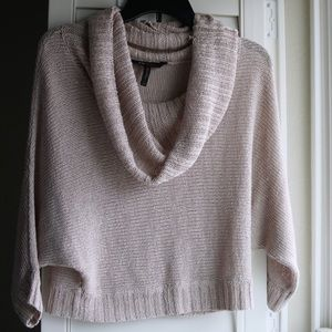 BCBG Maxazria // cowel sweater, slight crop